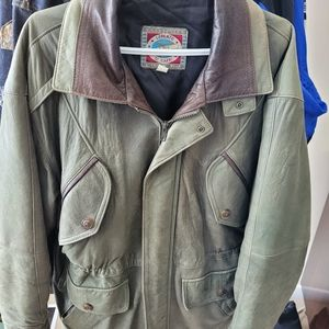 Lorenzo Di Capri Leather Jacket